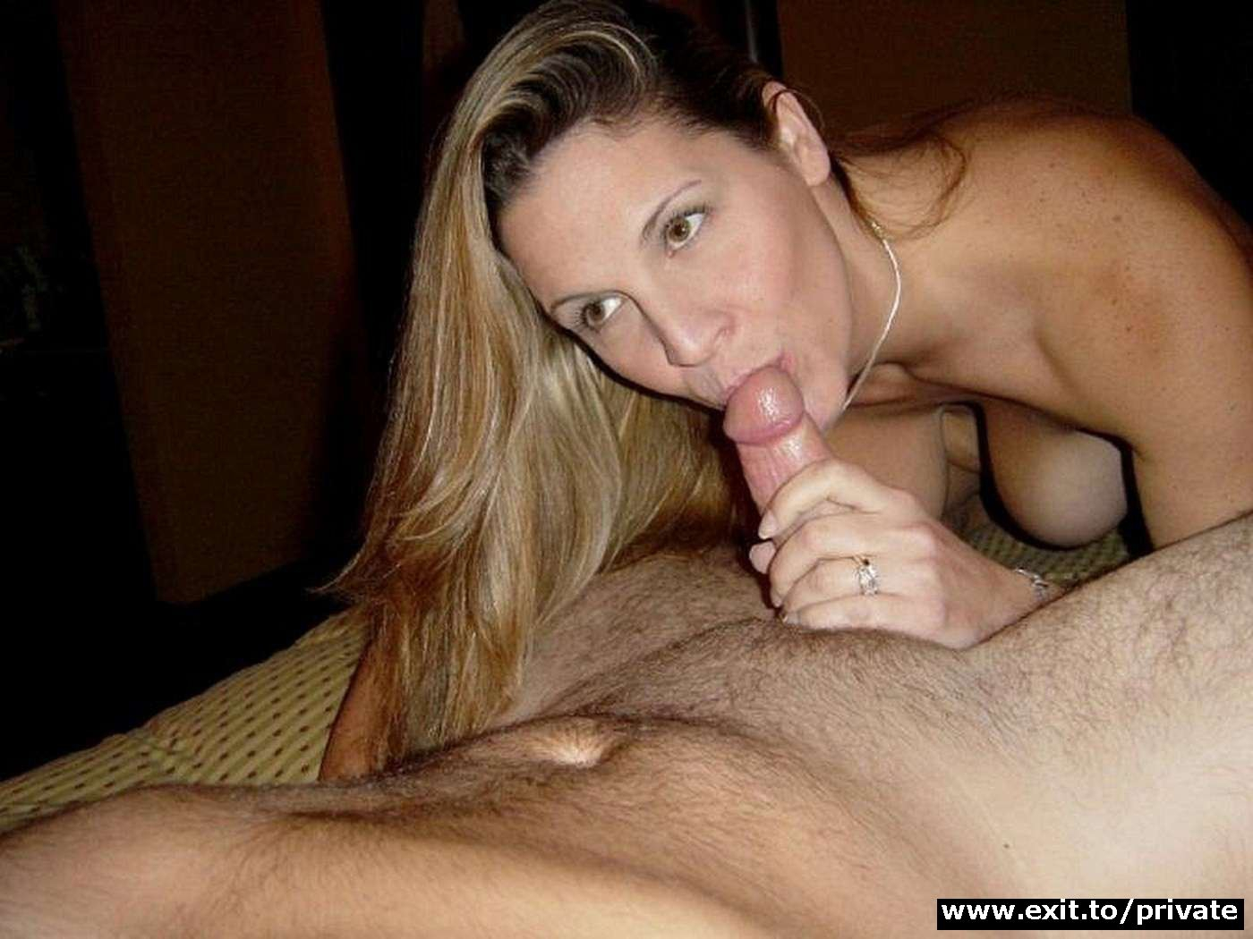 On blowjob cum wives