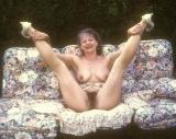 Yvonne opens her legs - N