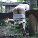 outdoor and public spanking of naughty girls