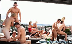 Hot group bisex studs and sluts