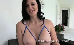 Older woman wants younger mans dick