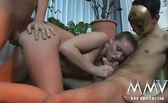 tight german babe taking hardcore anal pounding