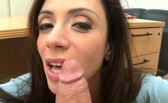 Milf is an amazing cock sucker