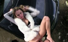 Hot Angelina gets fucked by the driver