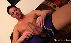 Hot Straight Guy Ryan Masturbating