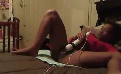 Black Pregnant Webcam Girl With Hitachi
