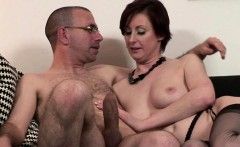 Mature in stockings doggystyle drilled
