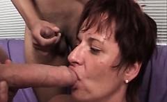 Two mature sluts are enjoying in lesbian sex