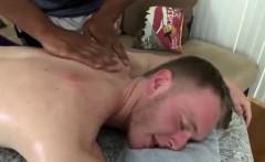 Interracial gay massage for muscled jocks