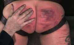 Savage folded skank getting caned