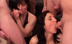 Amazing redhead mature sluts with big tits are so horny