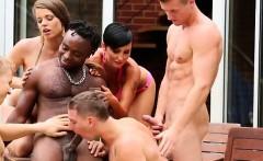 Orgy sluts sucking cock