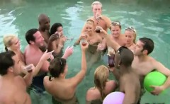 everyone is naked in the pool party in this xxx reality show