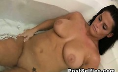 my hot mom filmed naked in the bathroom