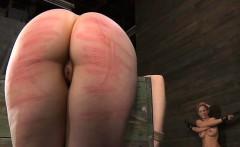 Angel receives depraved teasing