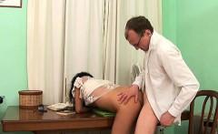 Teacher pounds playgirl senseless