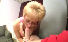Mature milfs sucking cock together