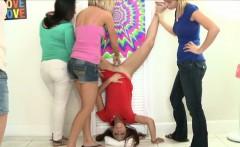Party lesbians use dildo