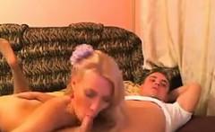 Amateur Russian Girl Sucking Cock
