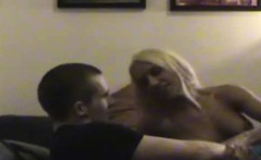 cheating blonde sucking dick on hidden camera in motel room