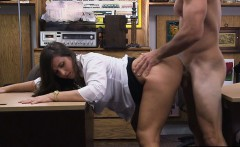 Big tits babe banged with the pawnkeeper in the pawnshop