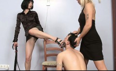Two Mistresses and a Submissiv Guy