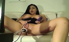 Incredible Busty Latin Sex Machine Webcam