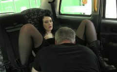 Kinky amateur tricked by fraud driver then got fucked