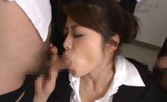 Maki Houjo Hot Asian teacher enjoys sex