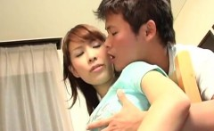Young Shizuku Natsukawa goes dirty on cock