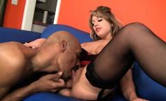 Ashley Takes A Huge Black Dick!