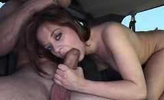 Appealing and wild cowgirl riding
