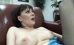 Sweet Hairy Mother On Thick Dark Cock