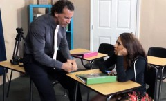 Cutie Sophia Torres assfuck in the class
