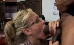 Blonde teacher Julia Ann fucking a BBC