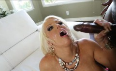 Big tittied secretary drives a huge cock