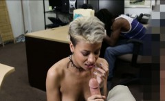 Pawn man fucking girl of a black dude in exchange for money