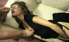 Skinny wife moans loud while husband ass fucks her