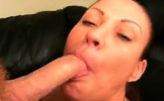Nasty Mother Sucking On A Long Dick