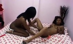 Dirty And Naughty Black Lesbian Couple