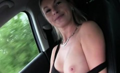 Alena gets hardcore car fucking action