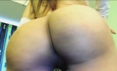 Huge Tits Shemale Jerking on Cam