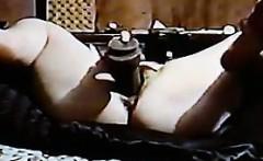 BBW Masturbating With A Big Black Dildo