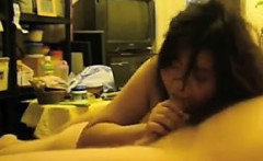 chubby chinese wife having sex with her man