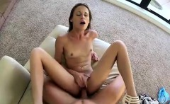 Little Kacy Lane humping dick by the window