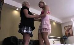 Mature Woman Seducing A Younger Girl