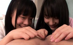 Japanese Cocksucking Babes In Trio Showing