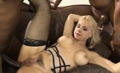 Big tits blonde whore Sarah Vandella all holes rammed