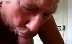 Cute Granny Sucks On A Cock Point Of View