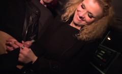 Anita Vixen sucks some stranger?s hard cock after flashing